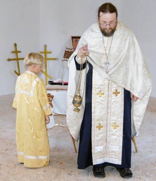 Rzeszowska cerkiewOjciec Jaroslaw Kadylo poświecil we wtorek krzyze cerkwi prawoslawnej w Rzeszowie.