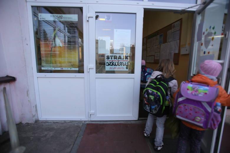 Strajk szkolny 31.03.2017