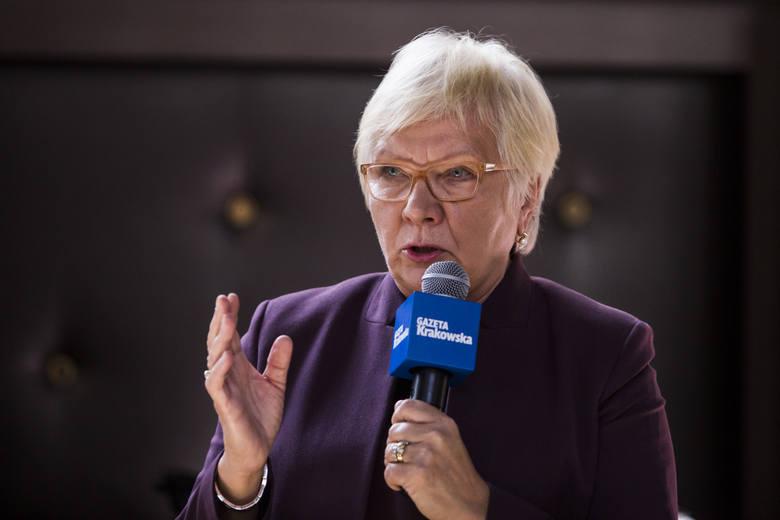 Dr med. Anna Prokop-Staszecka jest dyrektorem Szpitala im. Jana Pawła II, pulmunologiem i krakowską radną miejską