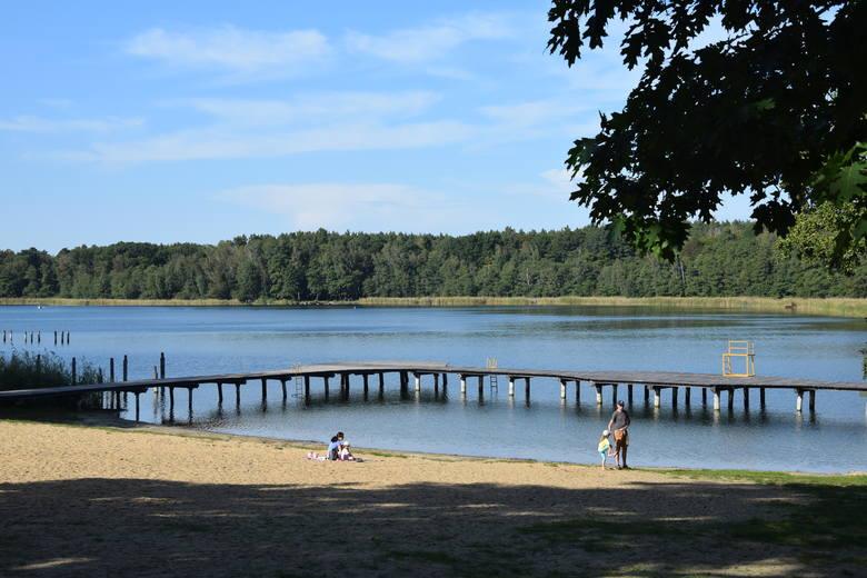 Jezioro Liny (na trasie Babimost - Kargowa) - wrzesień 2020 rok
