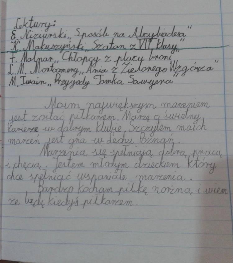 Antoni Kozubal spełnił marzenie ze szkolnego wypracowania. 16-latek zadebiutował w Lechu Poznań