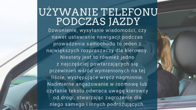 """Najczęstszą przyczyną wypadków na polskich drogach jest brawura i nieostrożna jazda. Rzadziej mówi się o """"pośrednich"""" czynnikach, które rozpraszają kierowców"""
