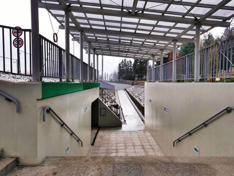Przejście podziemne pod ul. Cieszyńską w bielskiej dzielnicy Wapienica