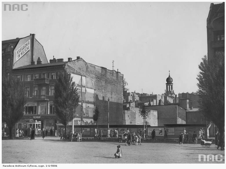 Plac Wolności - 1935 rok