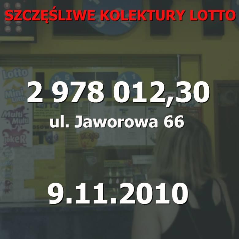 Prawie 30 milionów złotych - to najwyższa wygrana, jaka padła w Poznaniu dzięki prawidłowym skreśleniu sześciu liczb w Lotto. W których kolekturach w