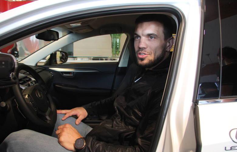 Cieszę się, że kolejny rok będę jeździł Lexusem - mówił MichałJurecki z PGE Vive