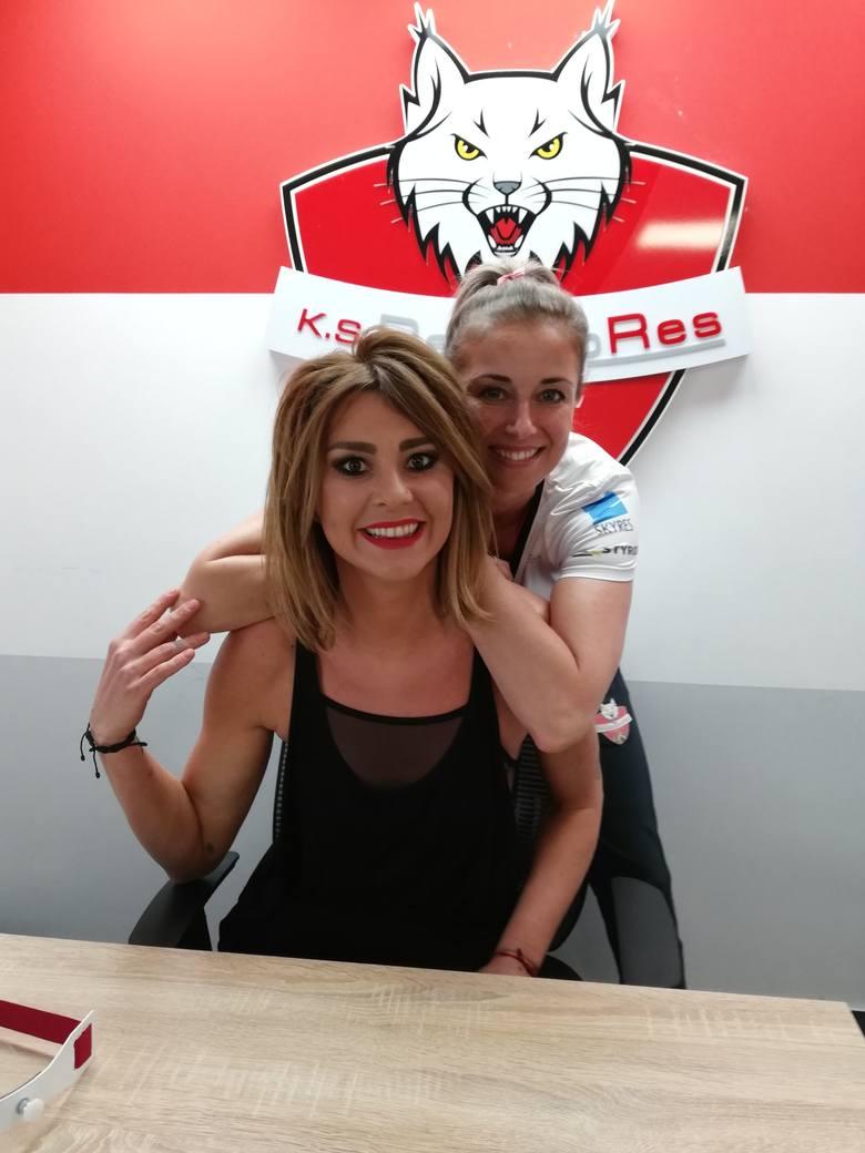 Katarzyna Skowrońska-Dolata i Anna Kaczmar gościły w weekend w Rzeszowie. Niestety kontrakt na przyszły sezon w ekipie Developresu  podpisała tylko jedna