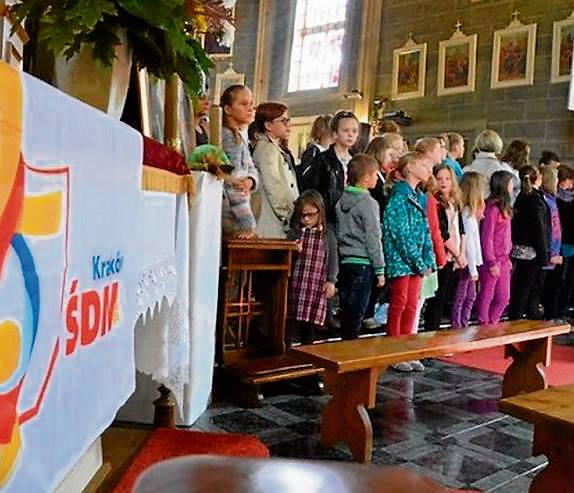 Michałowice. Promują spotkanie młodych z papieżem