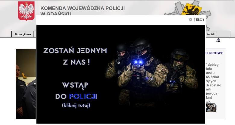 Nabór do pomorskiej policji. Jest praca dla 232 funkcjonariuszy