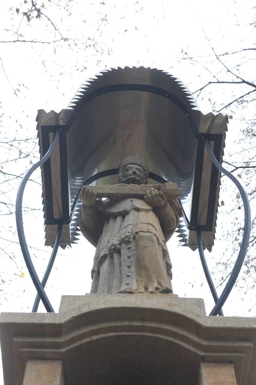 Golkowice. 150-letnia kapliczka odzyskała dawny blask [ZDJĘCIA]
