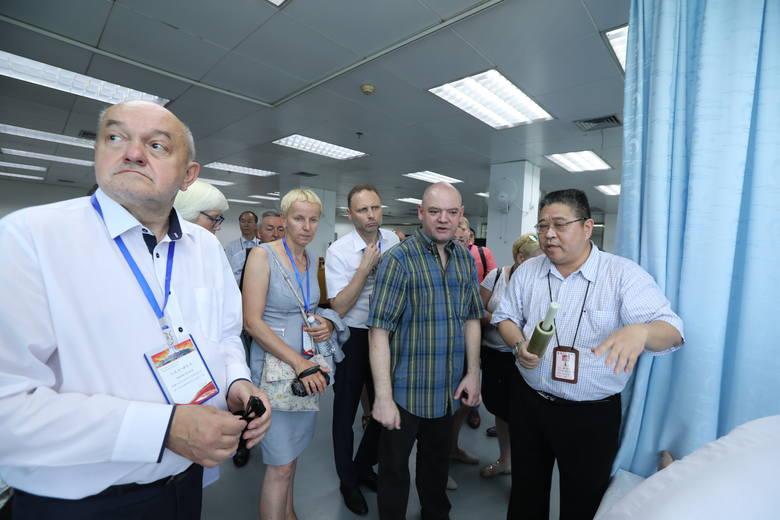 Przedstawiciele Regionalnego Szpitala Specjalistycznego w Grudziądzu wizytowali w chińskim Nanning. Wizyta grudziądzan w Azji to pokłosie współpracy,