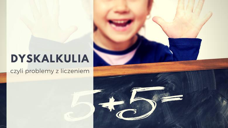 Problemy z liczeniem, czyli DYSKALKULIAProblem dzieci z wykonywaniem działań arytmetycznych nie zawsze wynika z niezrozumienia tematu, niekiedy w grę