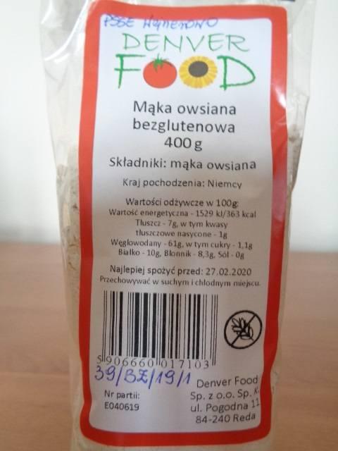 """1 sierpnia na oficjalnej stronie Głównego Inspektoratu Sanitarnego pojawił się komunikat, w którym poinformowano o wycofaniu produktu """"Mąka"""