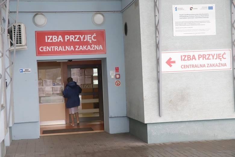 29-01-2020 lodz .koronawirus w lodzi w szpitalu im. bieganskiego przy ul . kniazewicza na oddziale zakaznym przebywaja pierwsi chorzy podejrzani o zakarzenie