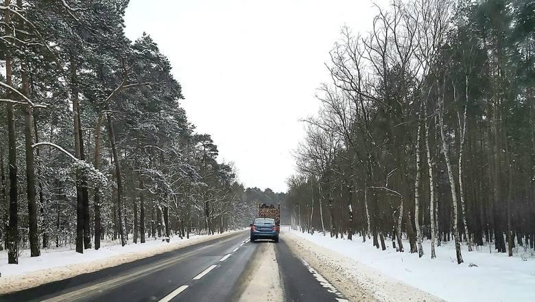 Trasa Zielona Góra - Żary już jest odśnieżona