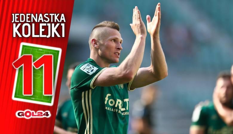 Jedenastka 10. kolejki Lotto Ekstraklasy według GOL24 [GALERIA]