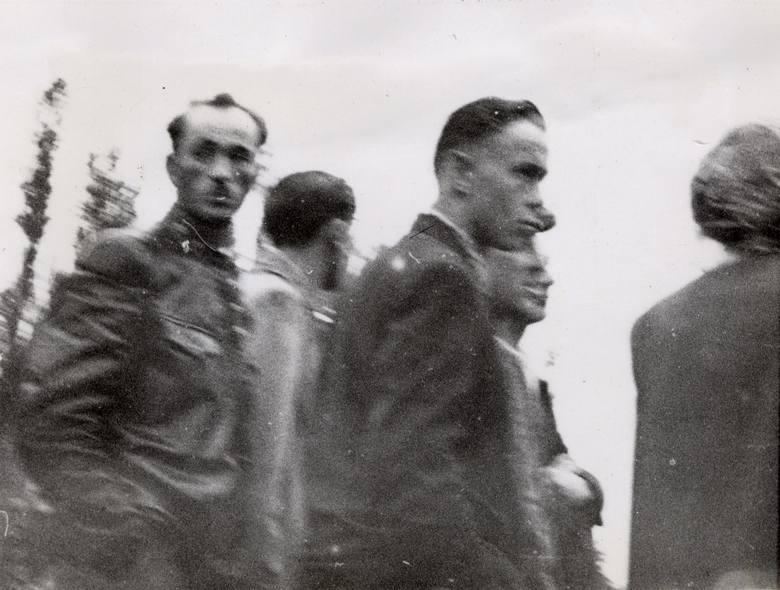 Uczestnicy na Placu Wielkopolskim