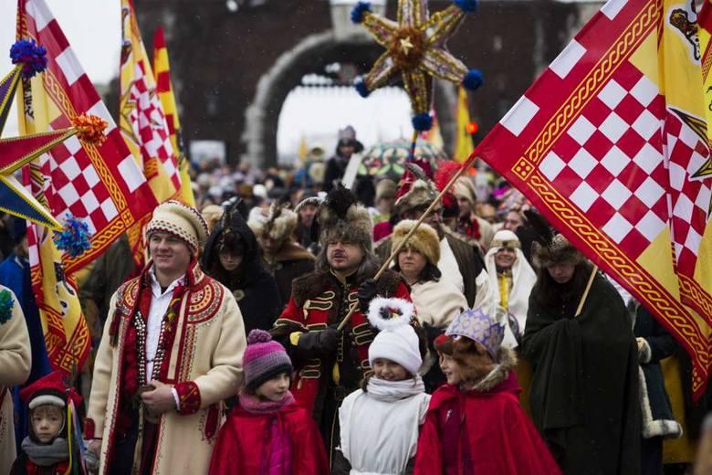 Europejski Orszak Trzech Króli przeszedł przez Kraków [ZDJĘCIA]