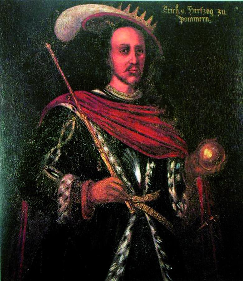 Taki obraz Ostatniego Wikinga utrwalili na płótnach malarze.
