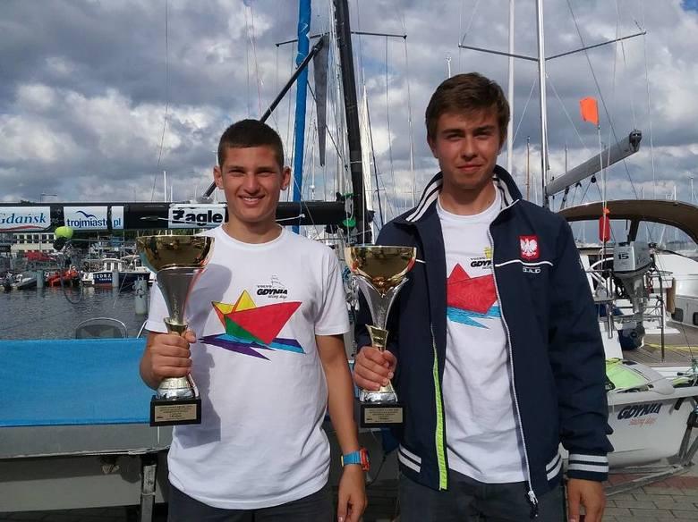 Złoty i brązowy medal  w sprincie klasy 49-er wywalczyli niedawno reprezentanci włocławskiego KS Aqua