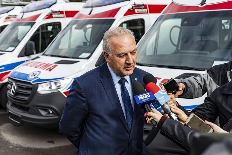 Dyrektor lubelskiego pogotowia, Zdzisław Kulesza