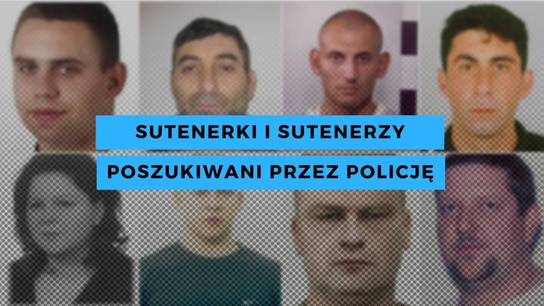 By zobaczyć osoby, które są poszukiwane przez policję za zarabianie na prostytucji innych lub nakłanianie do niej, sprawdź kolejne slajdy naszej gal