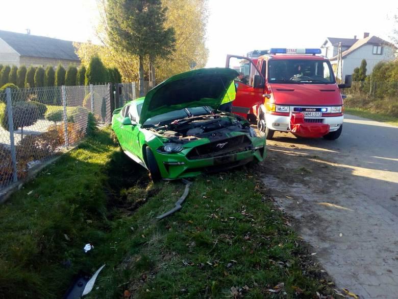 W niedzielę, około godziny 14., doszło do wypadku w miejscowości Czyżew Siedliska.