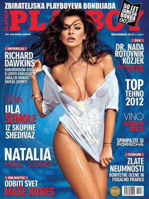 Natalia Siwiec w słoweńskim Playboyu
