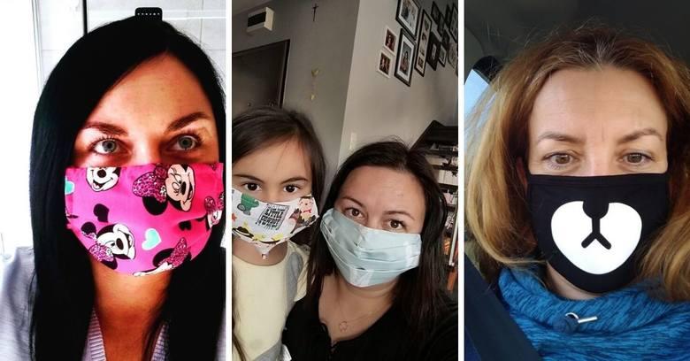 Od czwartku 16 kwietnia 2020 mamy nakaz zakrywania twarzy, poprzez zakładanie maseczek ochronnych, ewentualnie możemy zakryć twarz szalikiem lub chustą.