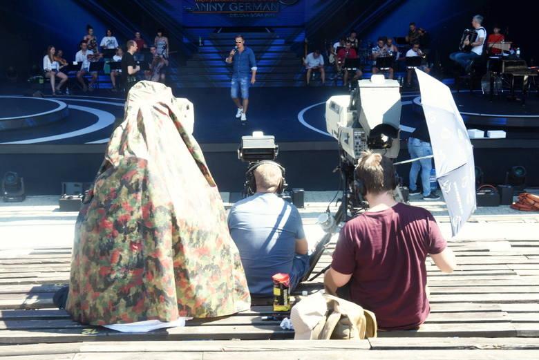 W piątek 26 lipca odbędzie się w Zielonej Górze Międzynarodowy Festiwal Talentów im. Anny German. Kilka godzin wcześniej zaglądaliśmy do amfiteatru,