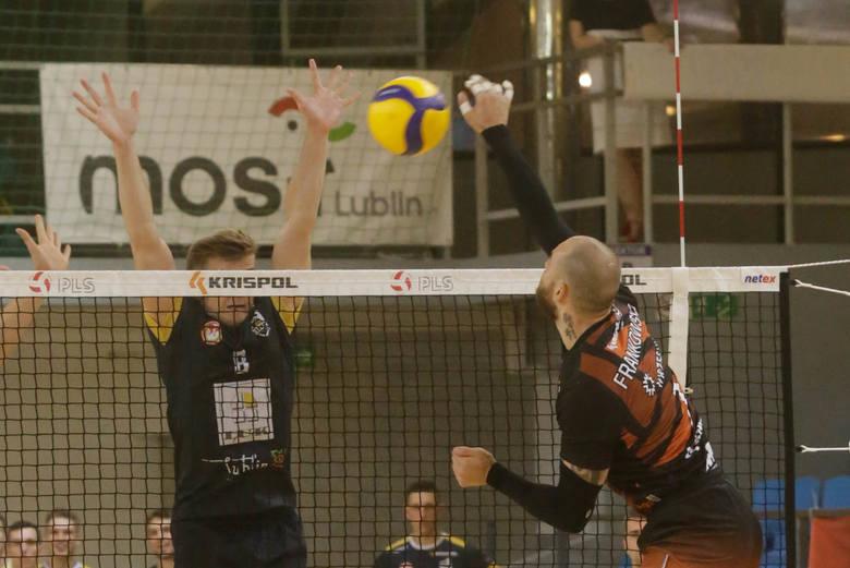 LUK Politechnika Lublin zainaugurował sezon na zapleczu PlusLigi przegraną po tie-breaku. Zobacz zdjęcia