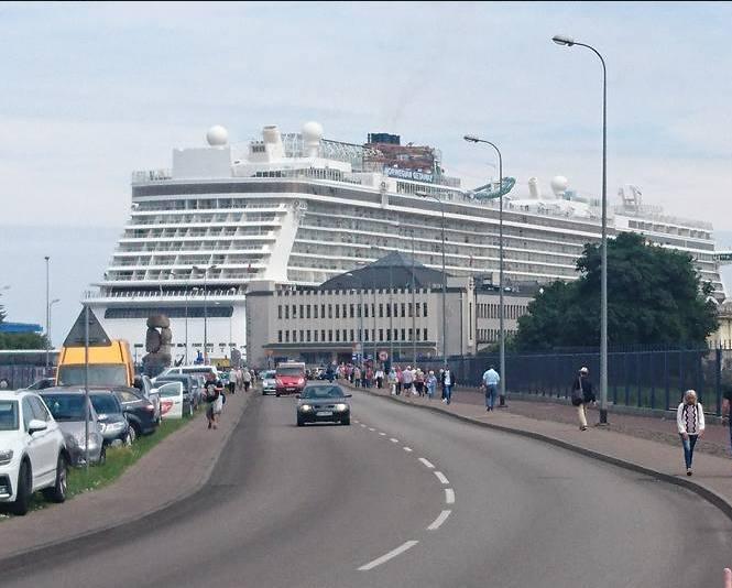 """Norwegian Getaway"" w Gdyni"