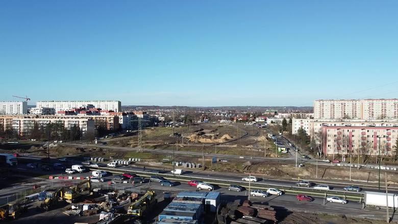 Kraków. Postępują prace na budowie linii tramwajowej do Górki Narodowej. Zobacz zdjęcia