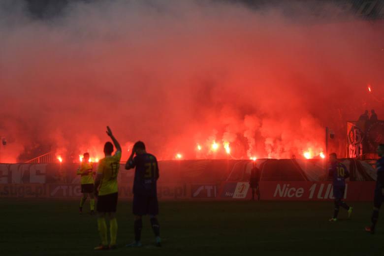 Zadyma przed meczem GKS Katowice - Odra OpoleAutor: GieKSa Facebook