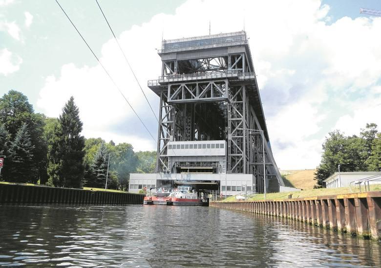 Podnośnia statków Niederfinow na Kanale Odra-Hawela.