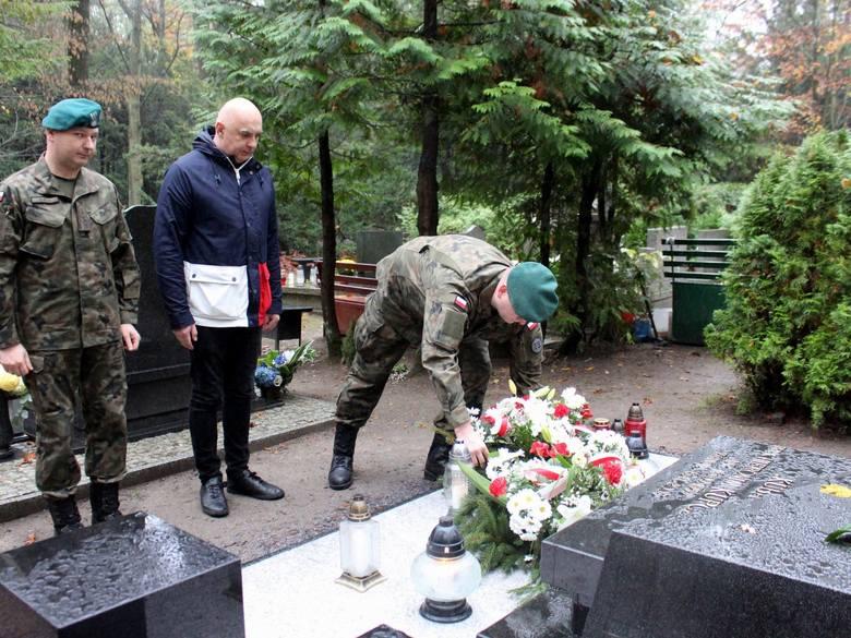 Szczecin. Pamiętali o pierwszym Polaku, który zginął na misji irackiej [ZDJĘCIA]