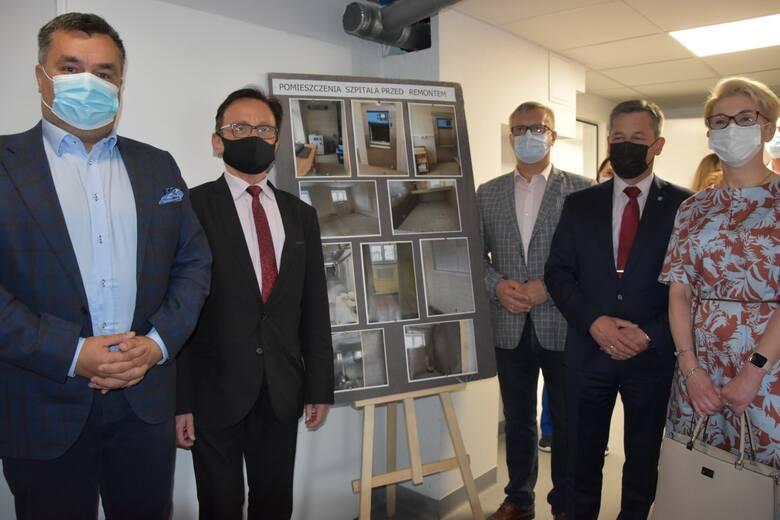 W szpitalu w Kartuzach otwarto centralną sterylizatornię