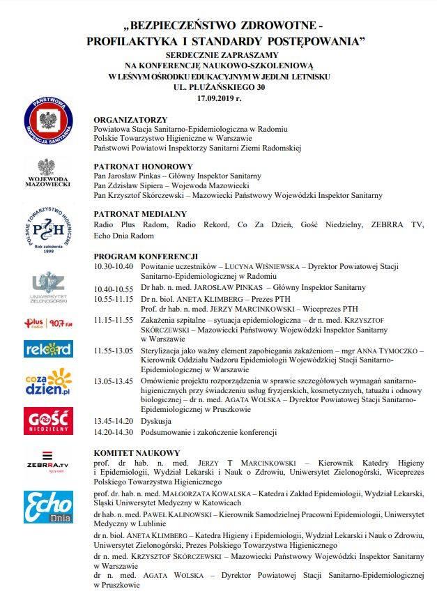 Sanepid w Radomiu zaprasza na konferencję o zakażeniach. Jeszcze można się zgłosić