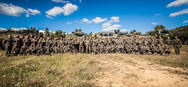 W manewrach uczestniczyło 212 żołnierzy międzyrzeckiej brygady.