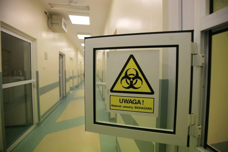 03.12..2007 warszawa ul .wolska szpital wolski obchody 125 rocznicy powstania szpitala otwarcie laboratorium diagnostyki molekularnej ostrzegawczy znak