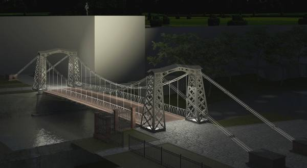 Żelazny most nad Małą Panwią, najcenniejszy zabytek Ozimka, zostanie odnowiony