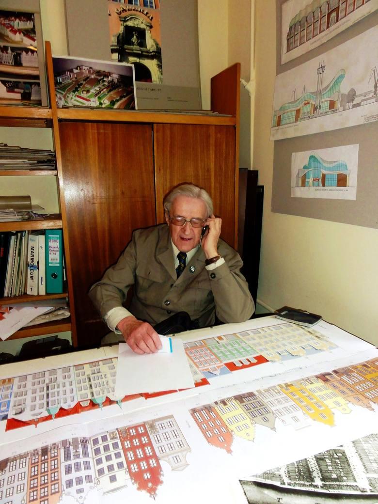 Stanisław Michel 2 lutego 2013 roku. Zdjęcie wykonane przez prof. Andrzeja Januszajtisa