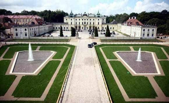 Pałac Branickich - siedziba Akademii Medycznej, a obecnie Uniwersytetu Medycznego w Białymstoku