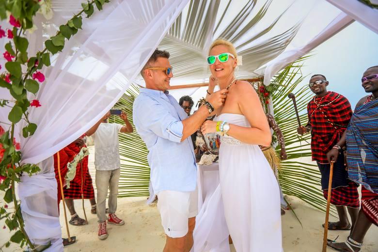 Ślub na Zanzibarze, czyli jak stać się romantycznym mężem. Wielka przygoda z tajemnicą w tle [ZOBACZ ZDJĘCIA]