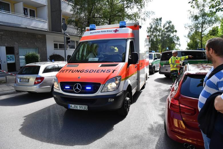 Niemcy: Strzelanina na stacji Unterföhring pod Monachium. Policjantka jest ciężko ranna [ZDJĘCIA]