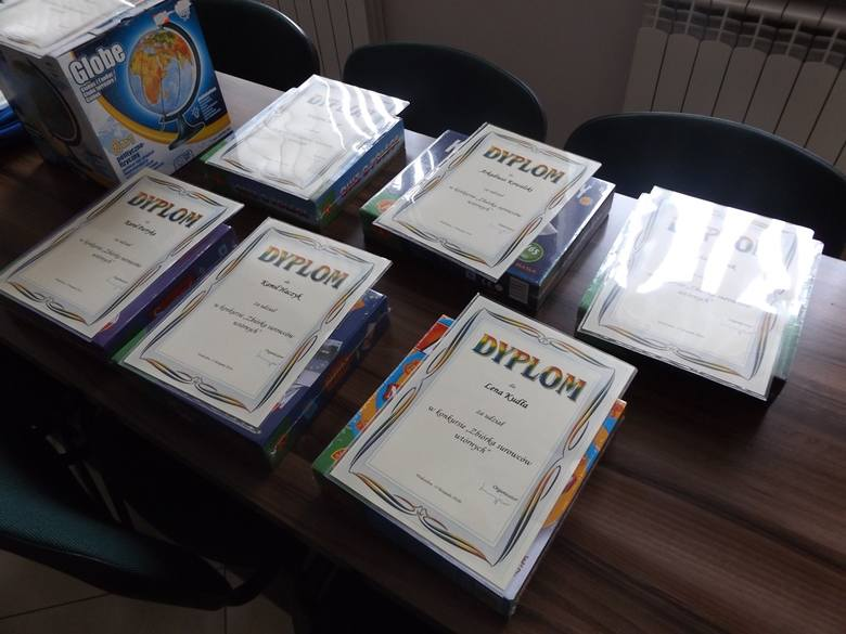 Podsumowanie szkolnego konkursu w gminie Wodzisław (ZDJĘCIA)