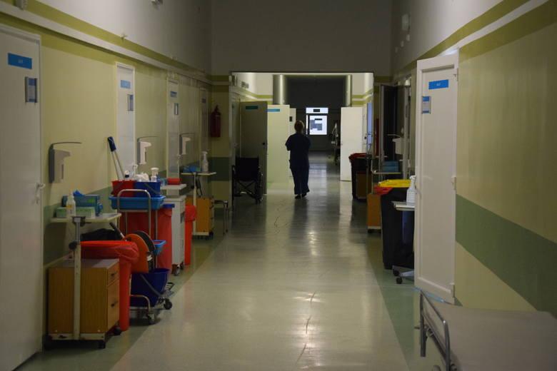 Szpital zakaźny działa w Gorzowie od 16 marca.