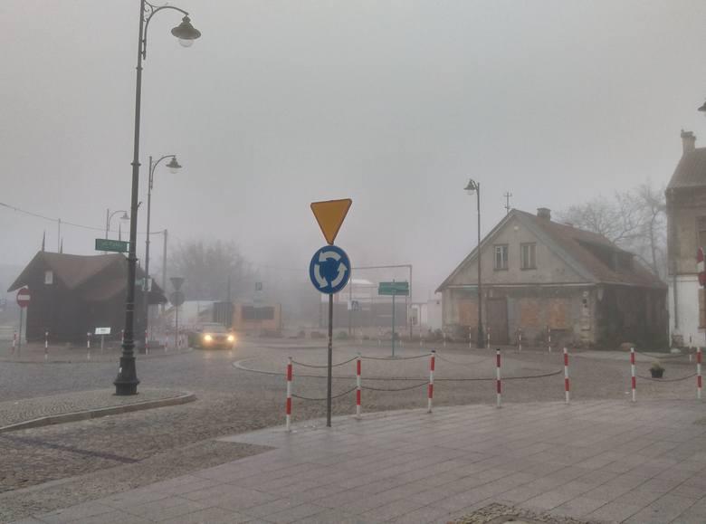 Mgła w województwie podlaskim będzie się utrzymywać. Pogoda na piątek 9 listopada 2018 (wideo, zdjęcia)