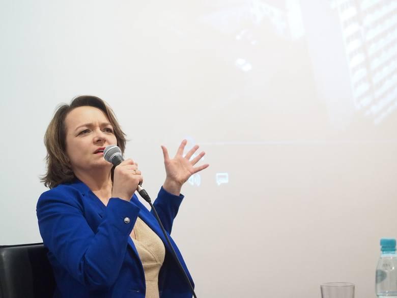 Izabela Dąbrowska w Domu Kultury Śródmieście