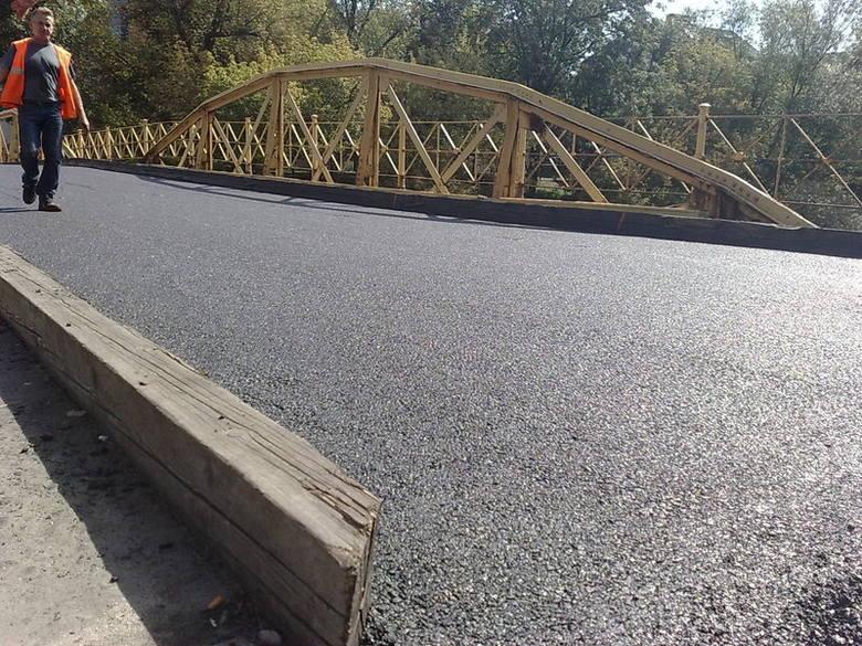 Most zamkowy jest zamknięty od soboty.